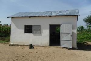fertiggestellte kleine Nähschule