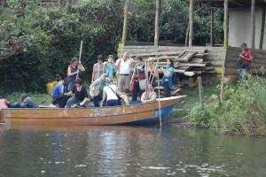 Boot am Lake Bunyonyi