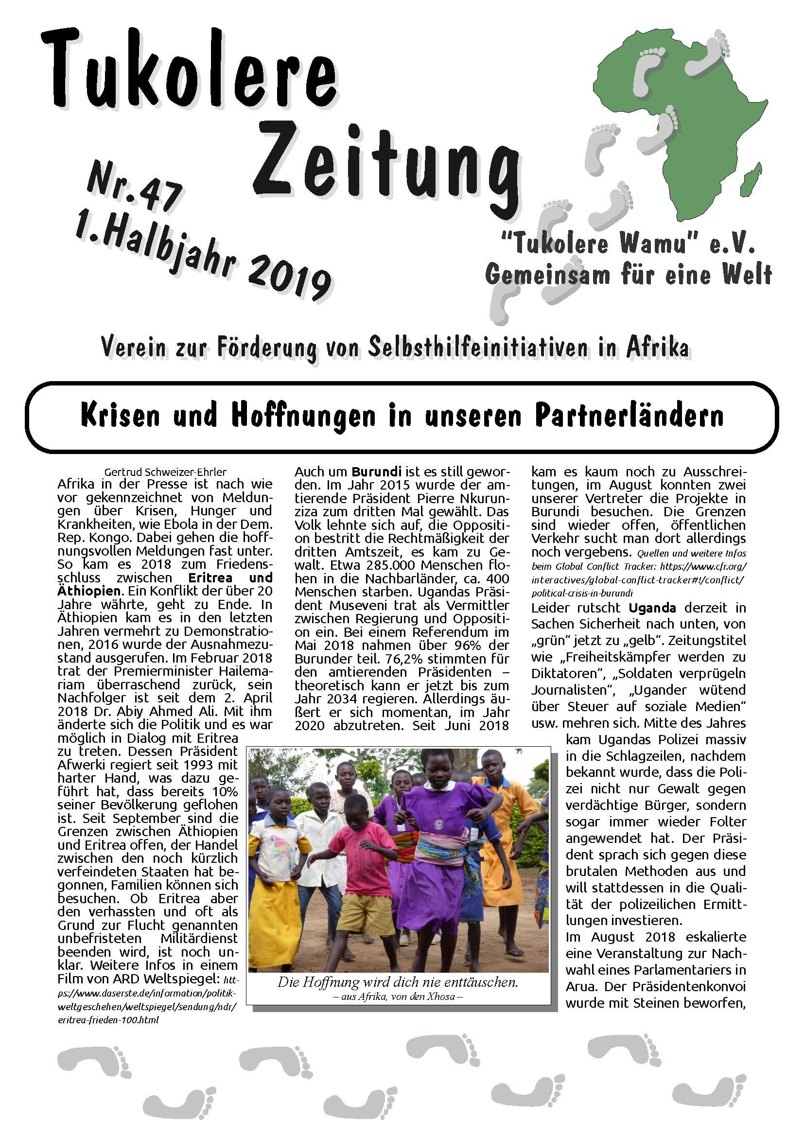 Zeitung Ausgabe 47 2019-01
