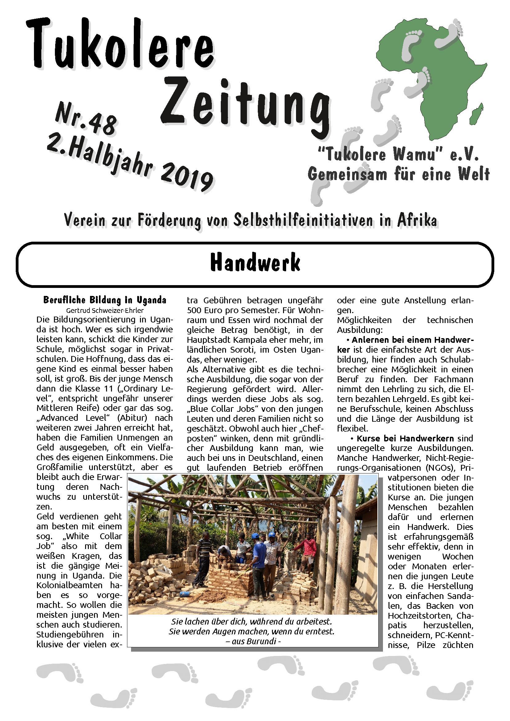 Zeitung Ausgabe 48 2019-02