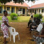Rektorin und Vorstand von Tukolere Wamu Uganda