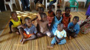 Kinder im Kinderdorf