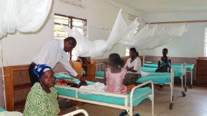 Kinderstation in Uganda