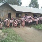 Schüler vor de Schule