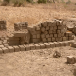 Bricks made by the population